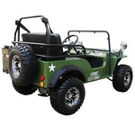 Coolster GK-6125A Challenger with Semi Automatic 125CC Go Kart Jeep. Aluminum Rims. Spare Tire - ATV SCOOTER STORE, INC