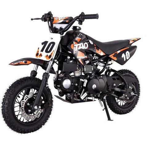 TAOTAO DB10 with Semi-Automatic Transmission 110cc Dirt Bike Orange