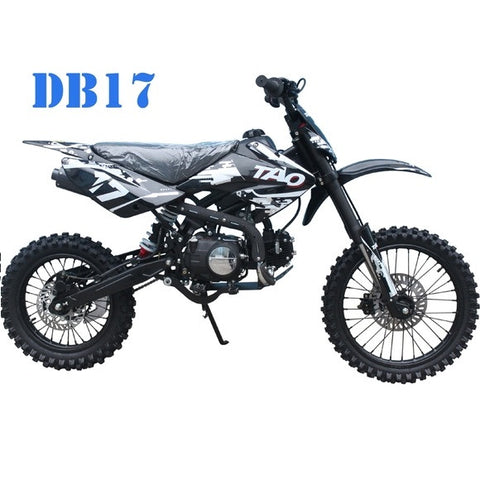 TAOTAO DB17 with 4-Speed Manual Transmission 125cc Dirt Bike White