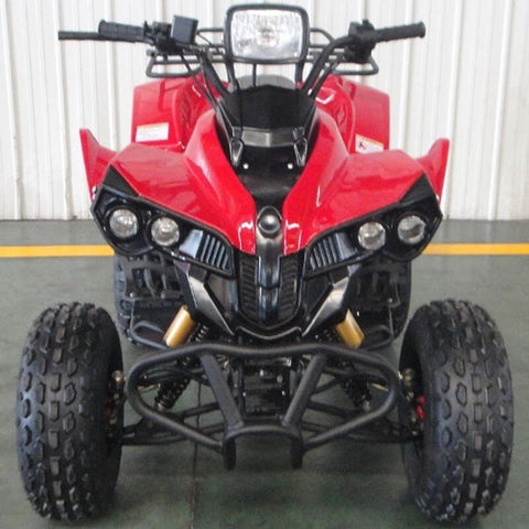 TPATV08 Phantom 125cc Full Size ATV Red
