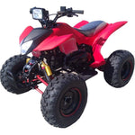 TPATV02 Re-Action 150cc Full Size ATV Red