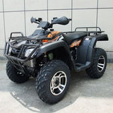 Monster 300 4WD with Automatic CVT with H/L/N/R 300cc ATV! Water Cooled Black