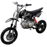 Coolster QG-214XR 125cc Dirt Bike with Semi-Auto Transmission Black