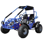 Trailmaster 150XRS With Automatic Transmission w/Reverse 150cc GoKart Blue