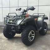 Monster 300 4WD with Automatic CVT with H/L/N/R 300cc ATV! Water Cooled & Alloy Wheels Army Green