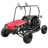 TaoTao ATK125A 110CC w/Semi-Auto W/Reverse Youth GoKart! Roof Lights! - ATV SCOOTER STORE, INC