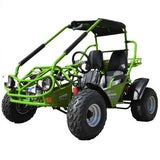 Trailmaster 150XRS With Automatic Transmission w/Reverse 150cc GoKart Green
