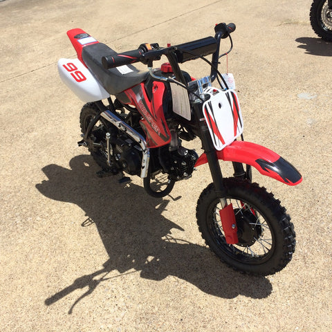 Coolster QG-210 70cc Dirt Bike with Semi-Auto Transmission