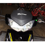 Taotao Quantum 150cc Gas Scooter with LED Headlights and Taillights