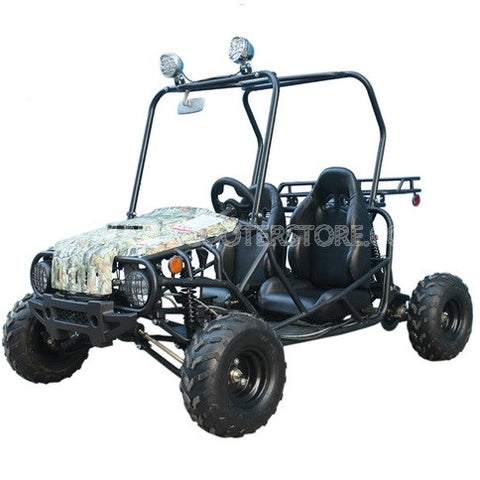 TaoTao Jeep Auto 110CC w/ Fully Automatic W/Reverse Youth GoKart Tree Camo