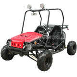 TaoTao Jeep Auto 110CC w/ Fully Automatic W/Reverse Youth GoKart Red