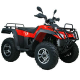 Monster 300 4WD with Automatic CVT with H/L/N/R 300cc ATV! Water Cooled & Alloy Wheels Red