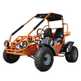 Trailmaster 150XRS With Automatic Transmission w/Reverse 150cc GoKart Orange