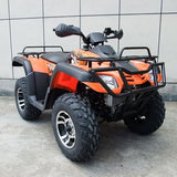 Monster 300 4WD with Automatic CVT with H/L/N/R 300cc ATV! Water Cooled Orange