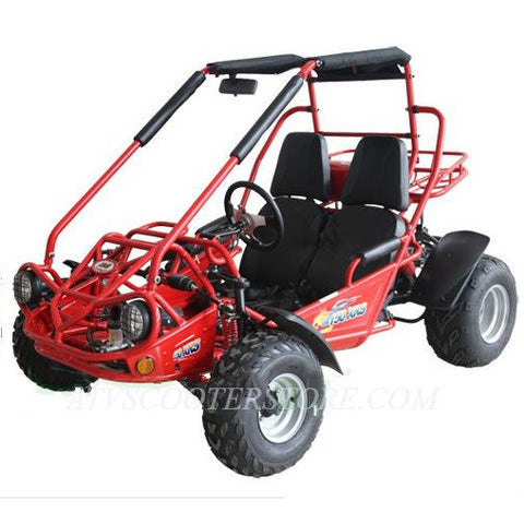 Trailmaster 150XRS With Automatic Transmission w/Reverse 150cc GoKart Red