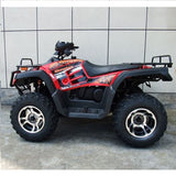 Monster 300 4WD with Automatic CVT with H/L/N/R 300cc ATV! Water Cooled Red