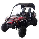 Trailmaster UTV300S Challenger With Fully Automatic transmission w/Reverse Utility Black