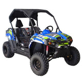 Trailmaster UTV300S Challenger With Fully Automatic transmission w/Reverse Utility Blue