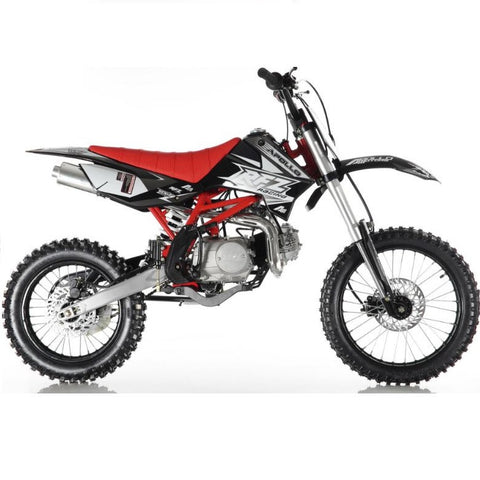 Apollo DB-X618 125cc Dirt Bike with 4 Speed Manual Clutch Transmission