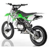 Apollo DB-X18 125cc Dirt Bike with 4 Speed Manual Clutch Transmission. Twin-Spare Tubular Frame - ATV SCOOTER STORE, INC