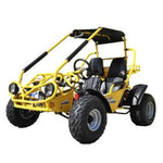 Trailmaster 150XRS With Automatic Transmission w/Reverse 150cc GoKart Yellow
