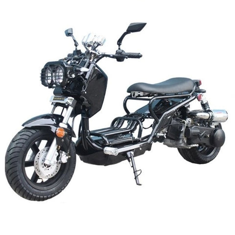 "TaoTao Cruiser 150 150cc Scooter with Automatic Transmission Black! 12"" Wheels!"