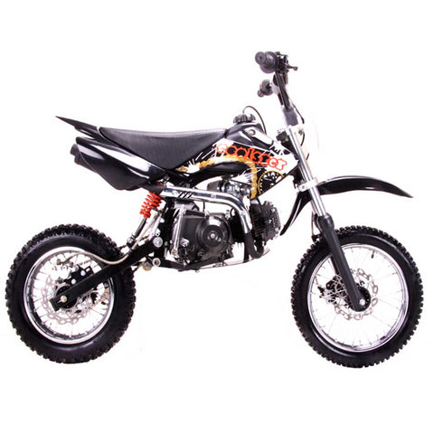 Coolster QG-214s with Semi-Auto Transmission 125cc Dirt Bike. Kick Start