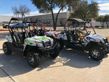 Cazador Beats 180XL with Automatic Transmission w/Reverse UTV! Alum Wheels! gas golf cart, Razor style