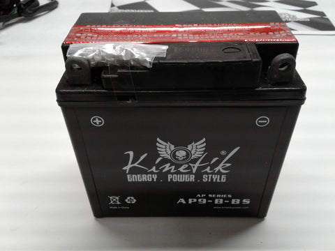 12v 9amp battery AP9-B-BS ( SKU A02J0515-8213) - ATV SCOOTER STORE, INC