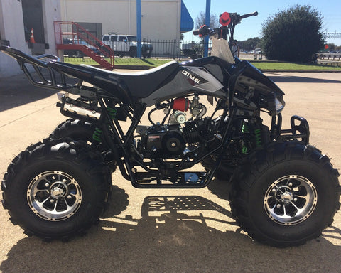 Coolster 3125CX-3 Automatic with Reverse 125CC ATV! Bigger Aluminum Wheels