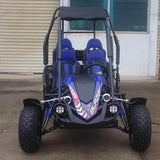 Trailmaster Blazer4 4-Seater 150cc With Automatic Transmission w/Reverse GoKart Blue! Family GoKart