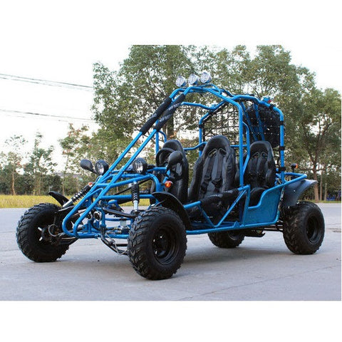 DF200GKE 4-Seater Go Kart with Fully Automatic  W/Reverse! Roof Lights