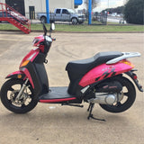 "Peace GTS 890 828 149cc 16"" tire gas scooter fully assembled"