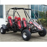 Trailmaster Blazer4 4-Seater 150cc With Automatic Transmission w/Reverse GoKart Red! Family GoKart