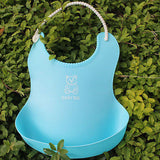 Waterproof Silicone Baby Bib With Pocket