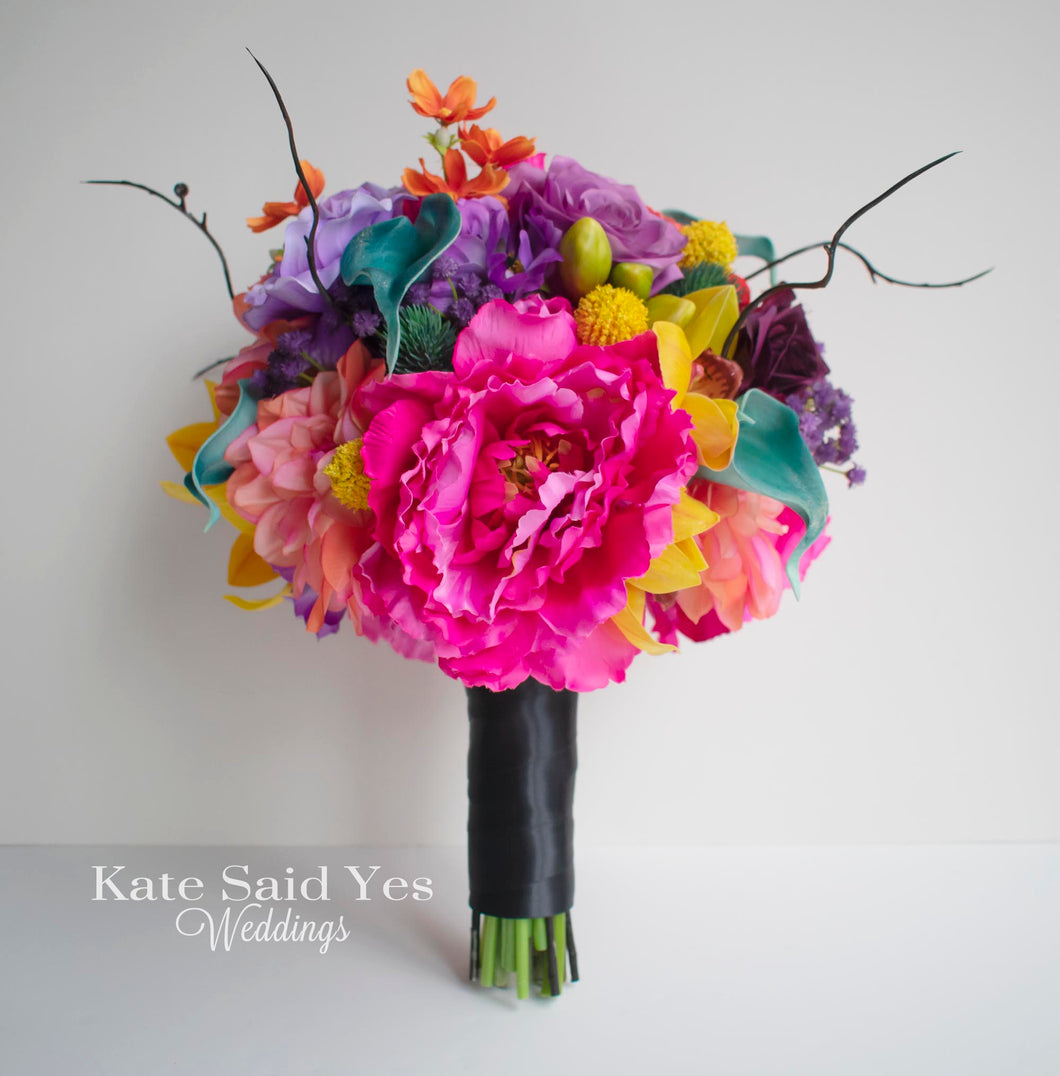 Day of the Dead Wedding Bouquet