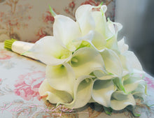 Wedding Bouquet Cream Calla Lily Real Touch Bridal Bouquet