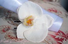 Orchid Hair Pin - Ivory Orchid Real Touch Hair Pin