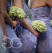 Light Green Hydrangea Wedding Bouquet - Silk Bridal Bouquet