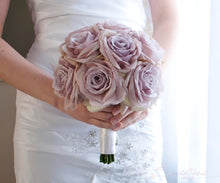 Lavender Rose Wedding Bouquet