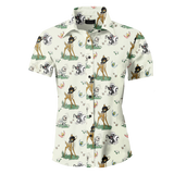 Bondage Bumbi Men's Button Up Shirt