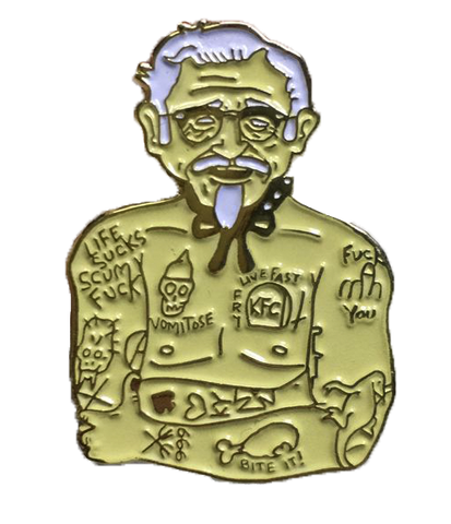 Limited Edition Georgia Gold G.G. Sanders Pin