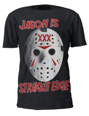 Jason Is Straight Edge T-Shirt