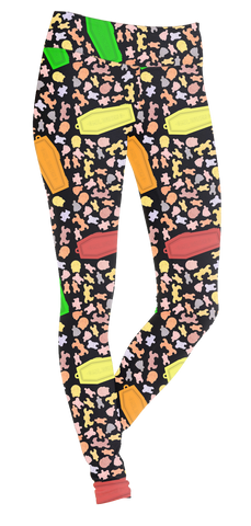 Mr.Bones Candy Leggings