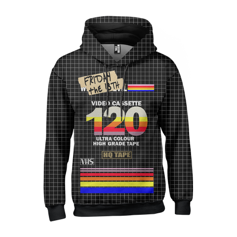 Bootleg Recordable VHS Hooded Sweater
