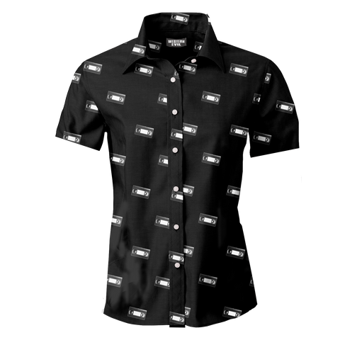 VHS TAPE Men's Button Up Shirt