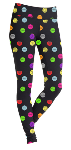 VHS Sticker Leggings