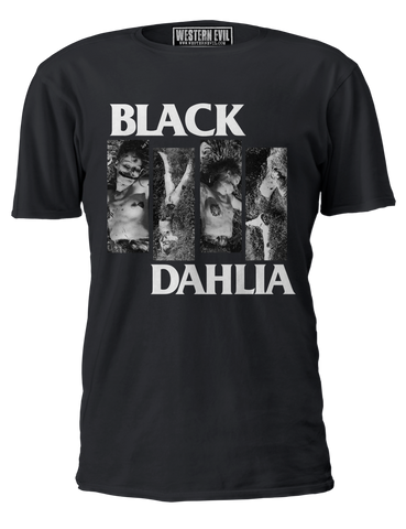 Black Dahlia Flag Vintage T-shirt