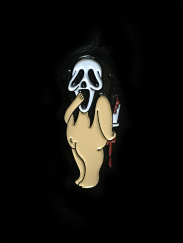 Kewpie Scream Pin
