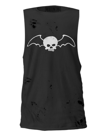 "Glenn Danzig ""Bat Skull"" Distressed Unisex Shirt"